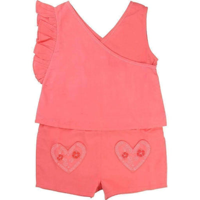 Pink Hearts Jumpsuit-Outfits-Billieblush-kids atelier