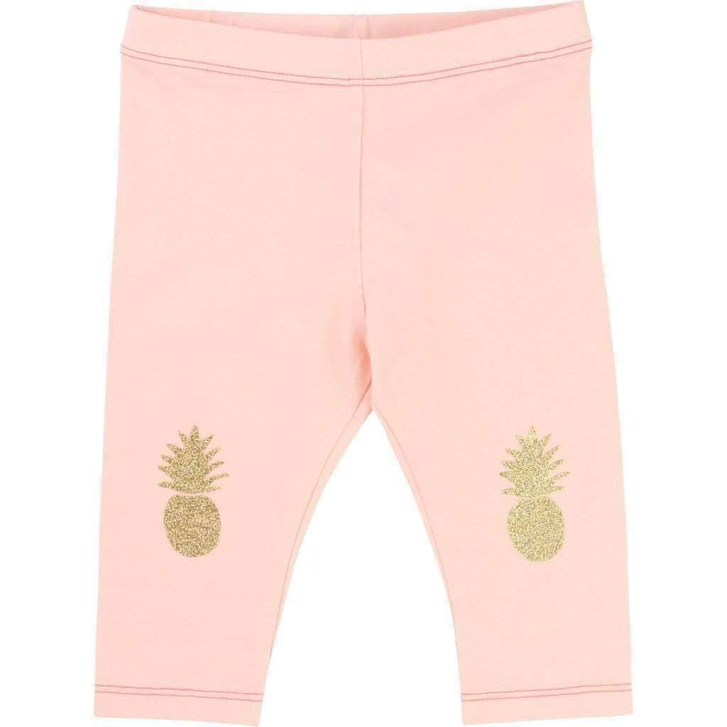 f5a1e8ebde90d0 Pink Pineapple Leggings-Leggings-Billieblush-kids atelier