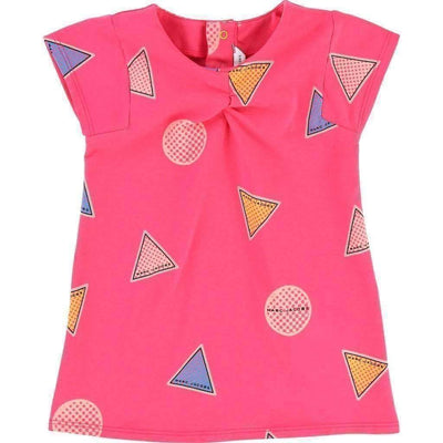 Pink Shapes Dress-Dresses-Little Marc Jacobs-kids atelier