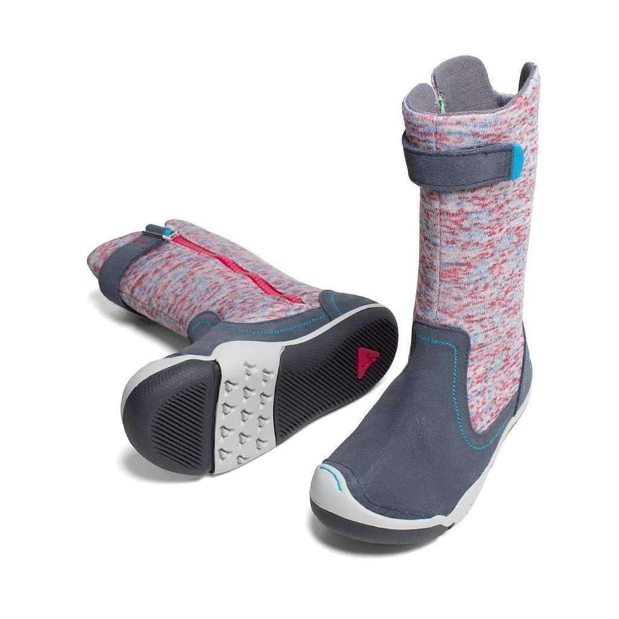 Plae Claire Gray/Multi Flecked Boot-Shoes-Plae-kids atelier