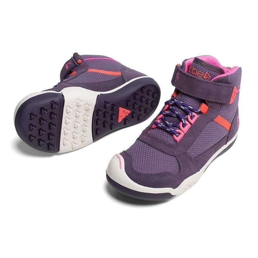 Plae Kaiden Plum Purple Hightop Shoes-Shoes-Plae-kids atelier