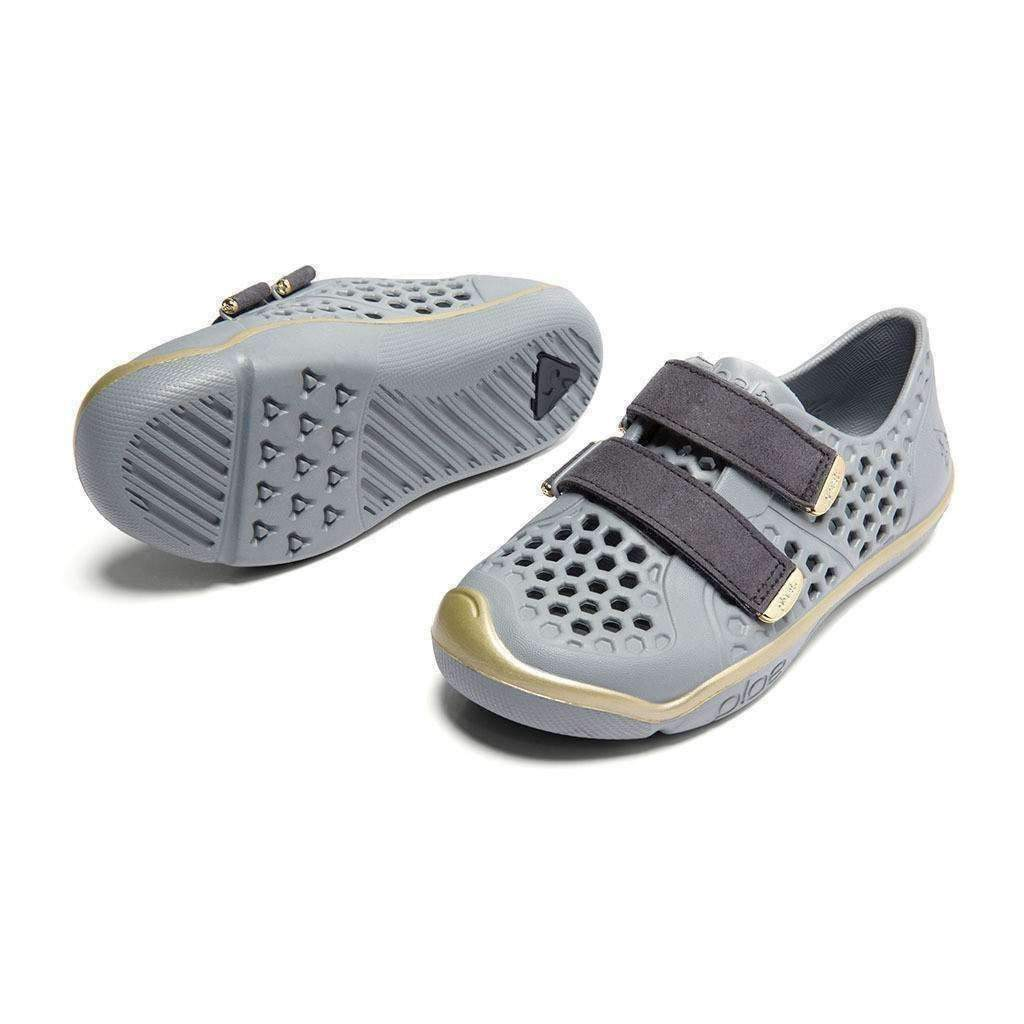 Plae Mimo Limestone Gold Shoes - kids