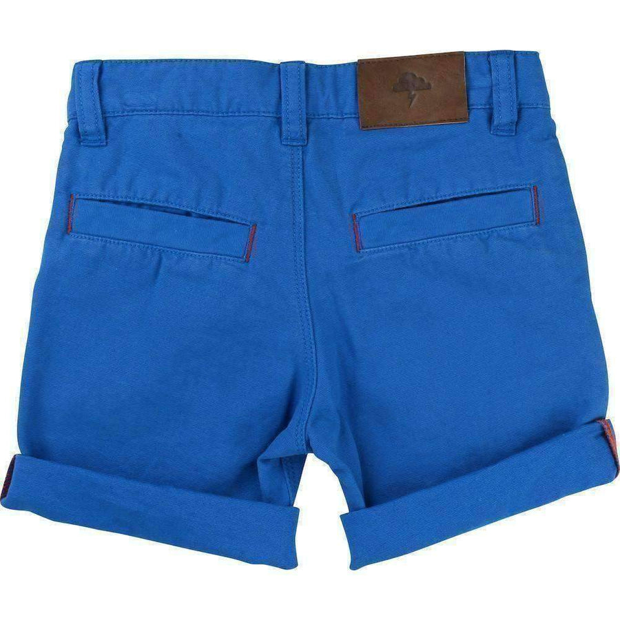Sea Blue Bermuda Shorts