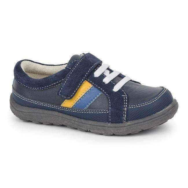 See Kai Run Blue Suede Randall II-Shoes-See Kai Run-kids atelier