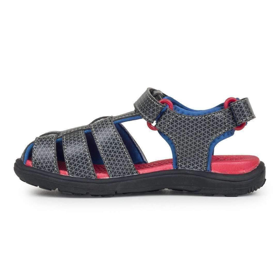 See Kai Run Cyrus Black Sandal-Shoes-See Kai Run-kids atelier
