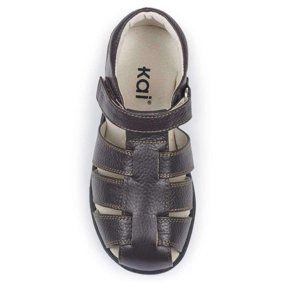 See kai Run Dark Brown Dillon II-Shoes-See Kai Run-kids atelier