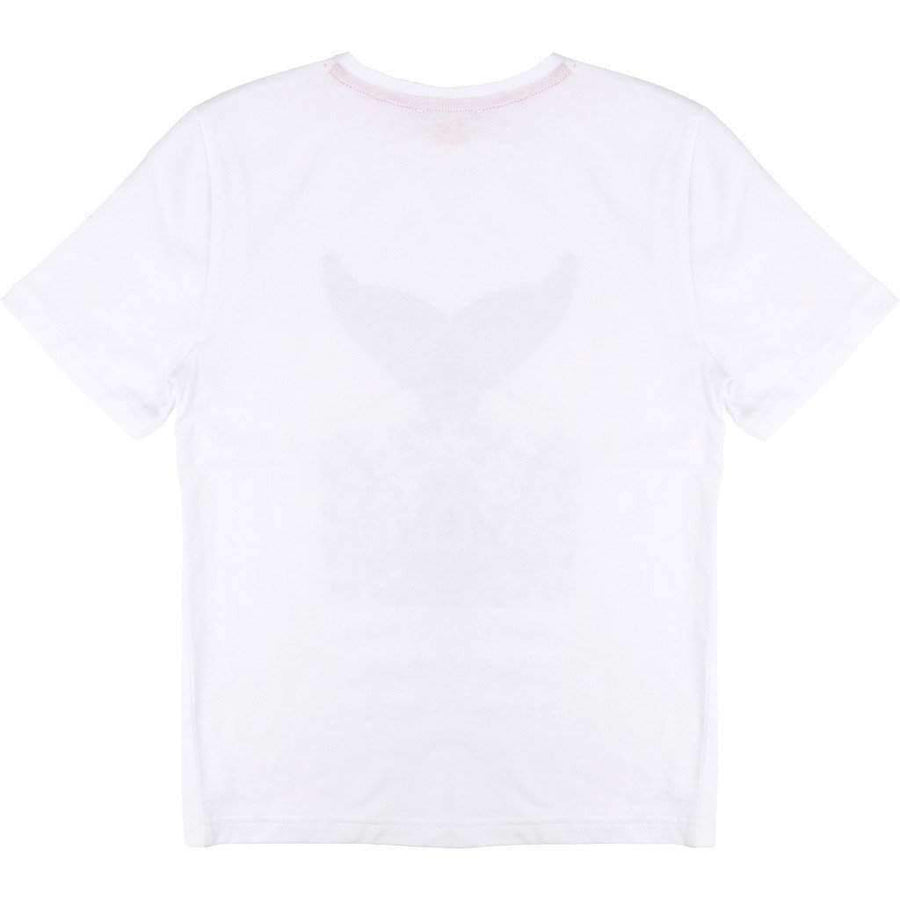 Short Sleeve Whale Tail Tee Shirt-Shirts-BOSS-kids atelier