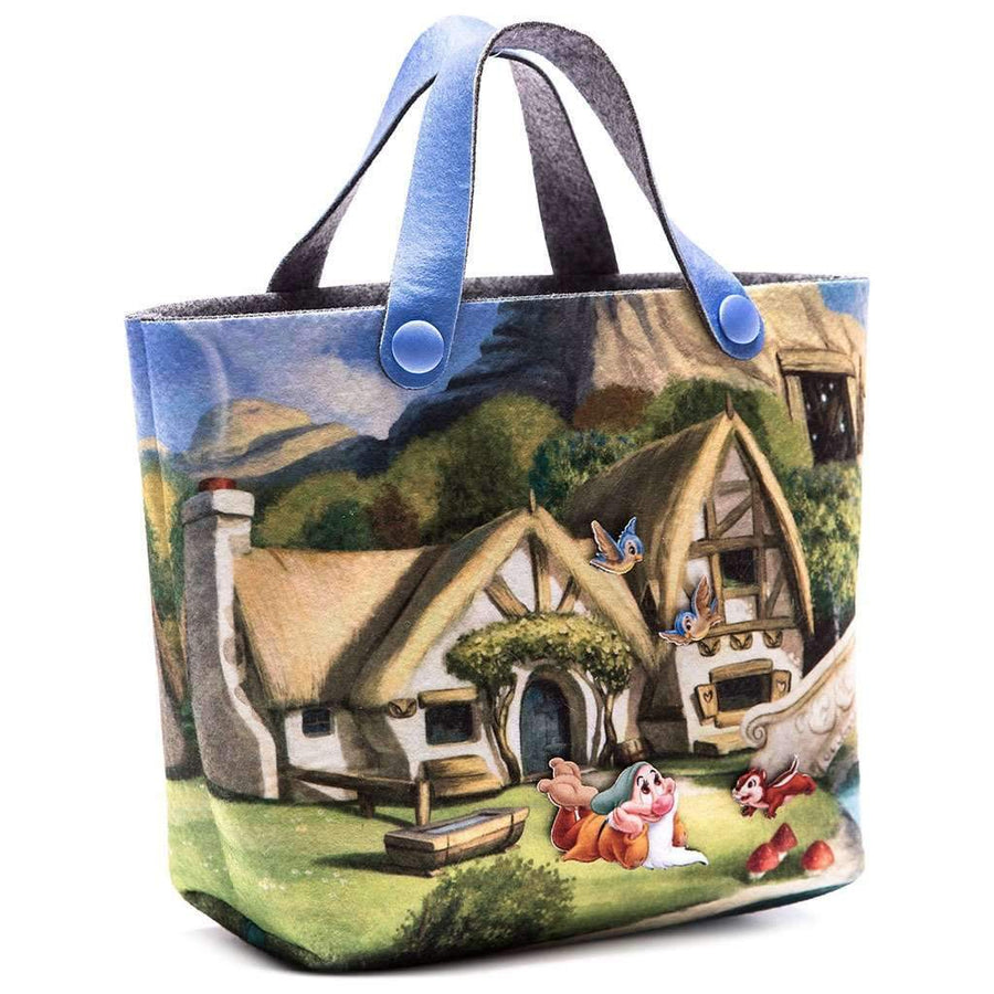 Snow White & 7 Dwarves Bag-Accessories-Monnalisa-kids atelier