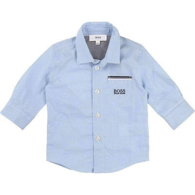 Boss Striped Pocket Shirt-Shirts-BOSS-kids atelier