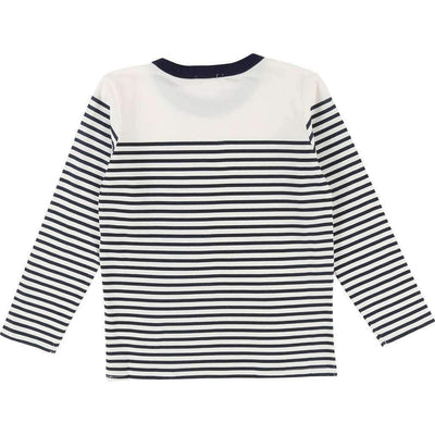 Striped Space Longsleeve T-Shirt-Shirts-Billybandit-kids atelier