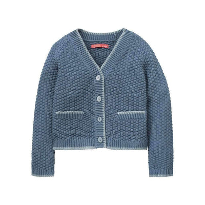 Textured Knitted Cardigan-Outerwear-Oilily-kids atelier