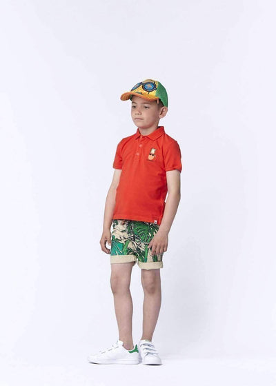 Tropical Bermuda Shorts-Shorts-Billybandit-kids atelier
