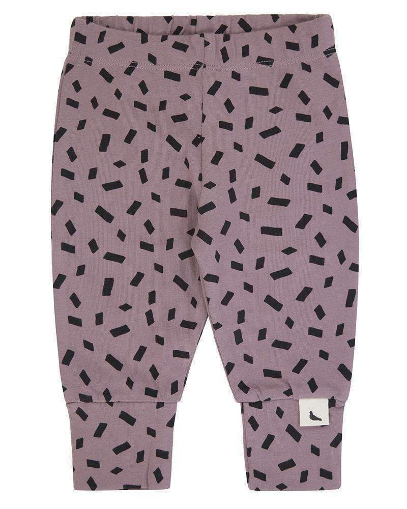 Turtledove London Faded Purple Confetti Legging-Leggings-Turtledove London-kids atelier