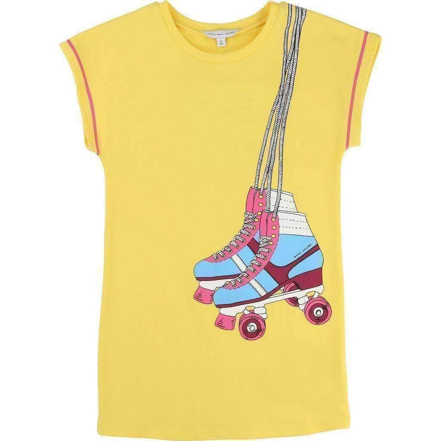 Yellow Rollerskates Dress