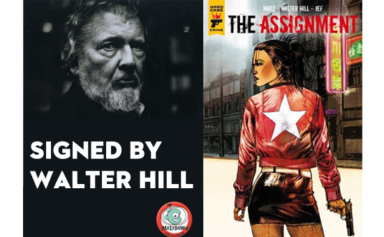 The Assignment SIGNED by Walter Hill