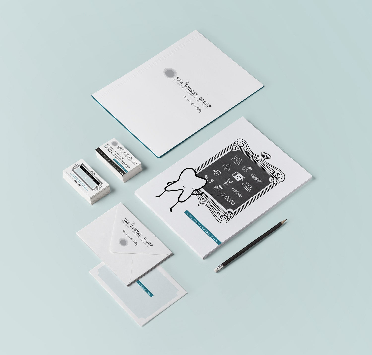 Tam Dental Group Branding