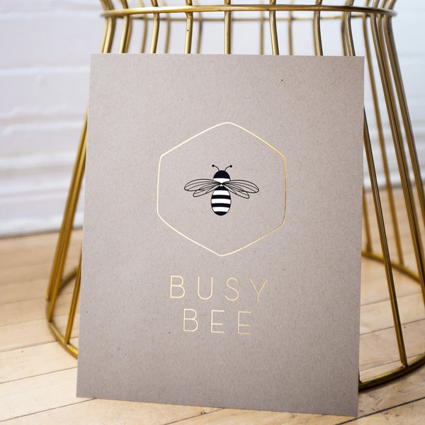 Busy Bee Print