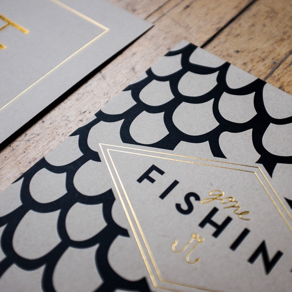 Gone Fishin' Print