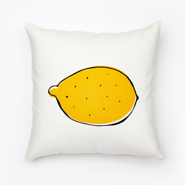 Giant Lemon Pillow