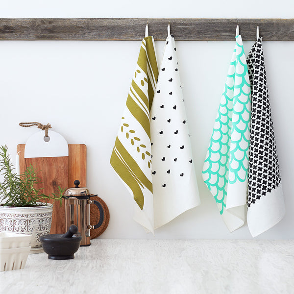 Cotton Tea Towel Sets