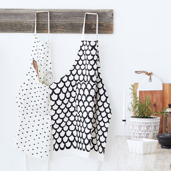 Mini Hearts Apron