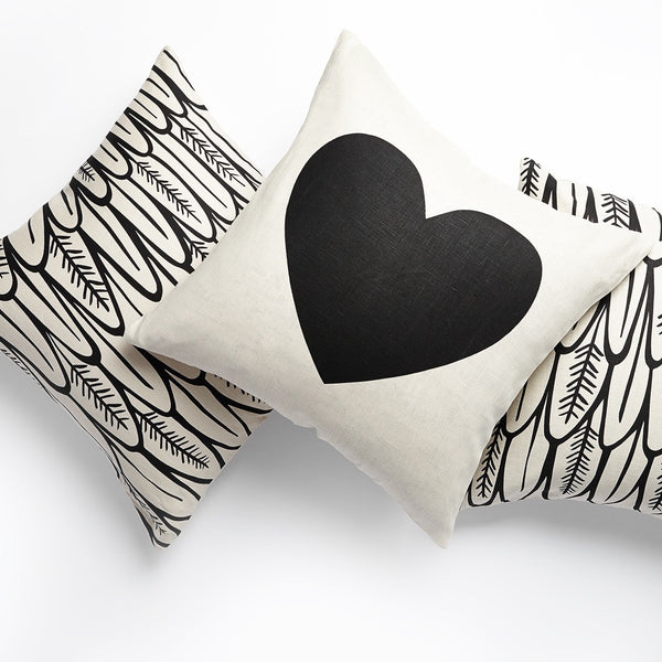 Giant Heart Pillow