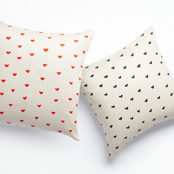 Mini Hearts Pillow