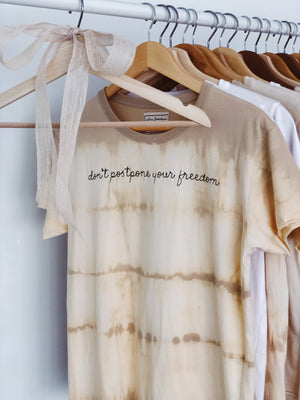 Dyeing for Neutrals DPYF Baby Girl Tee