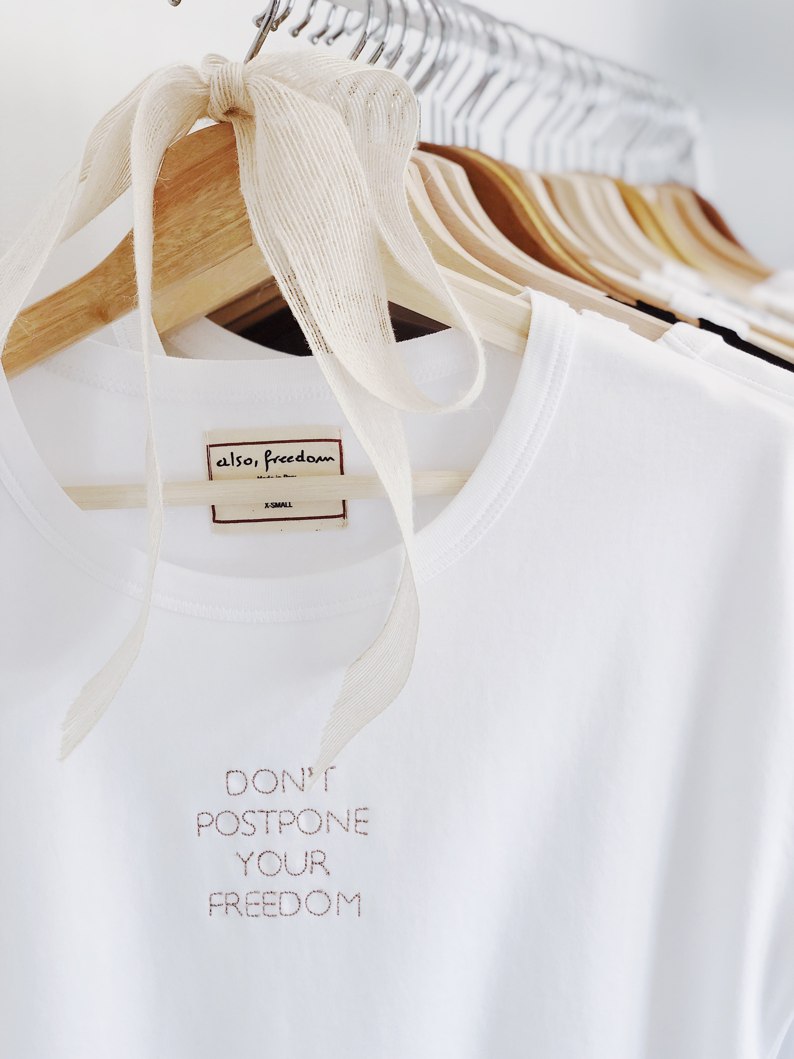 Don't Postpone Your Freedom 2, Baby Girl Tee