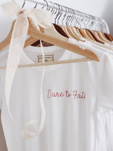 Dare to Fail, Baby Girl Tee