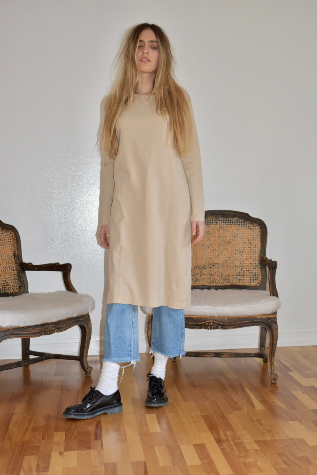 Dare (On Elbows), Long Sleeved Dress