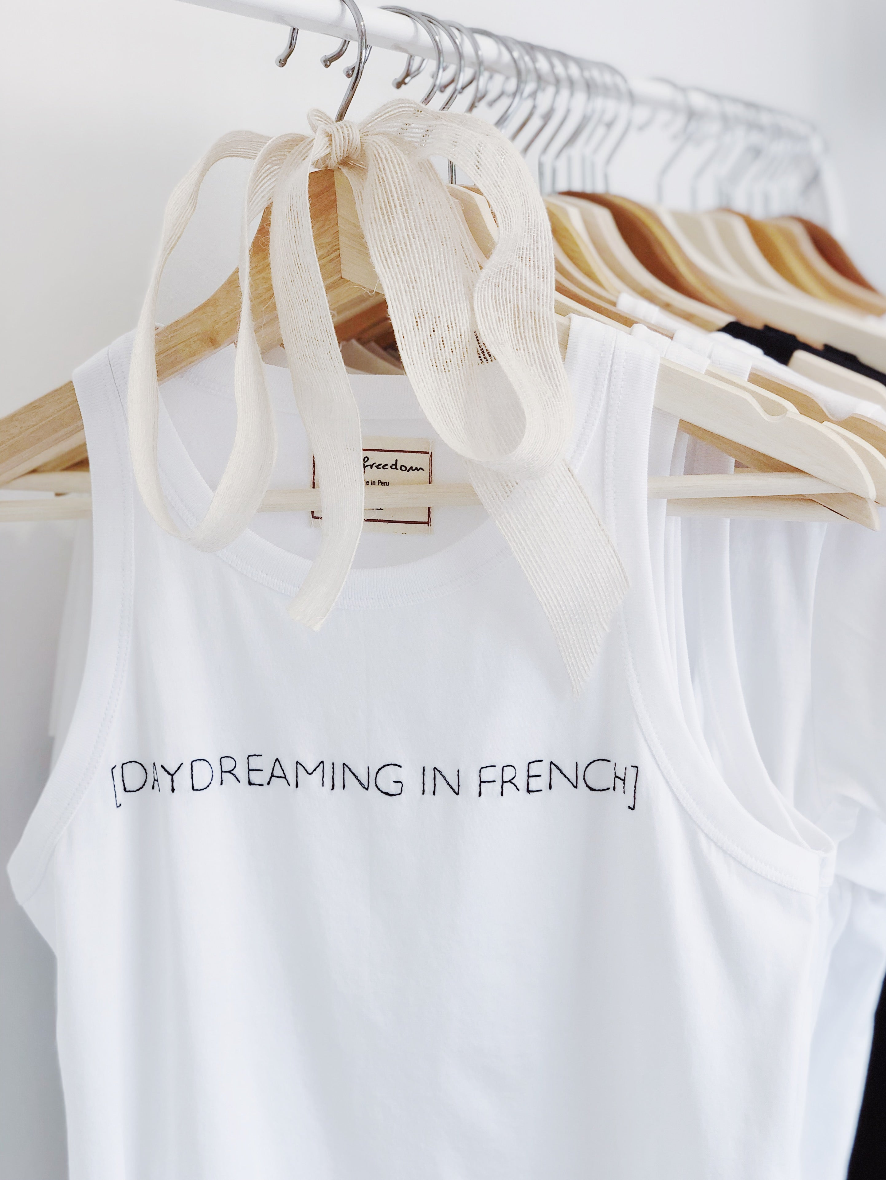 Daydreaming in French, Tank Top