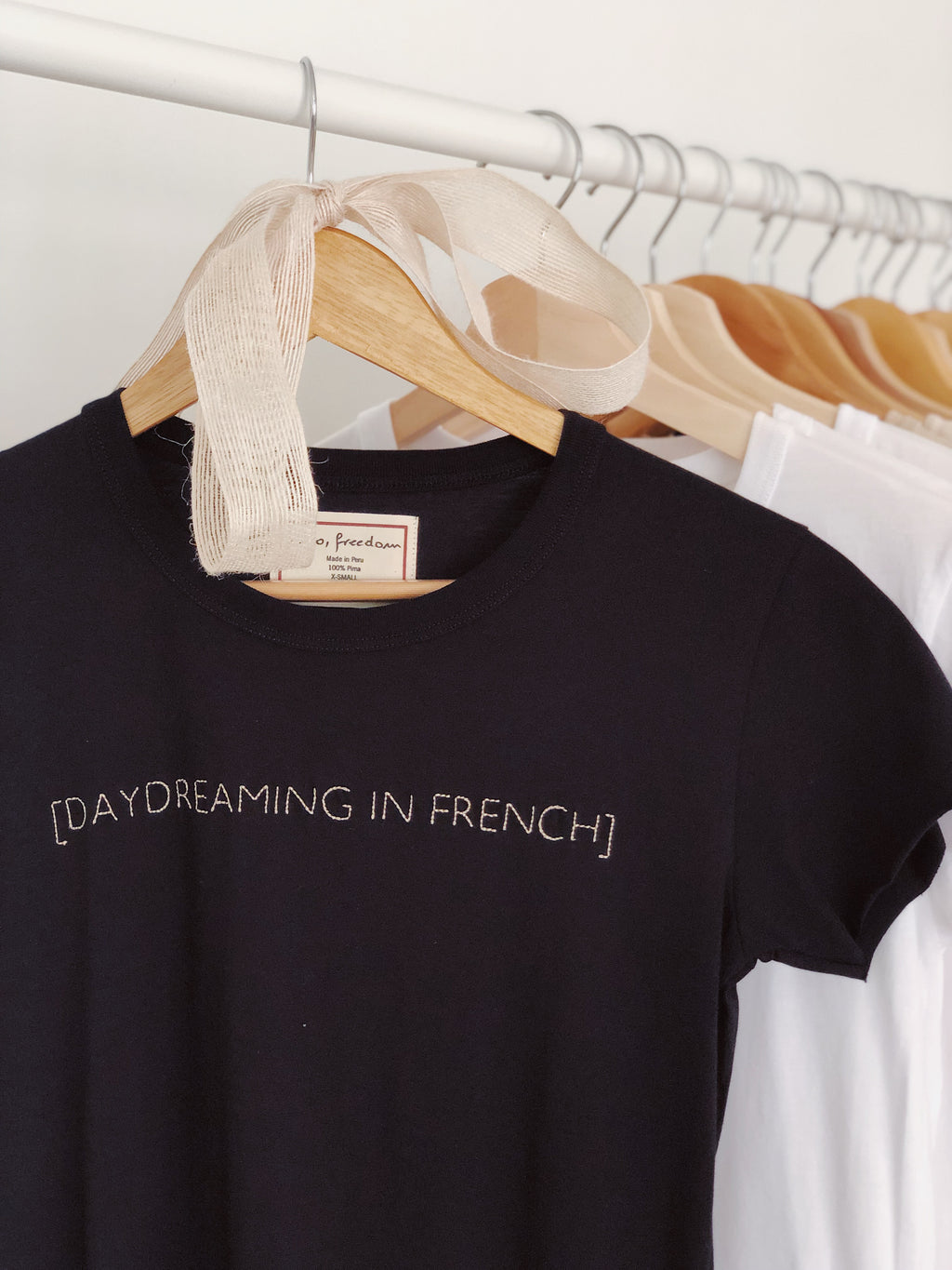 Daydreaming in French Baby Girl Tee