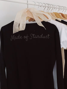 Made of Stardust, Long Sleeved Dress BACK