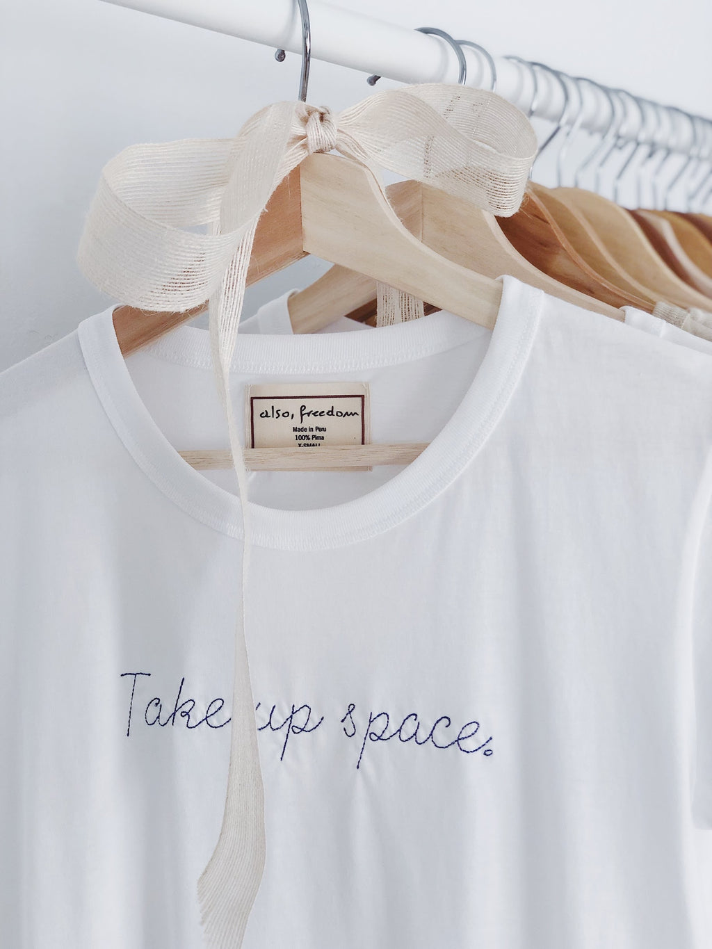Take Up Space, Baby Girl Tee