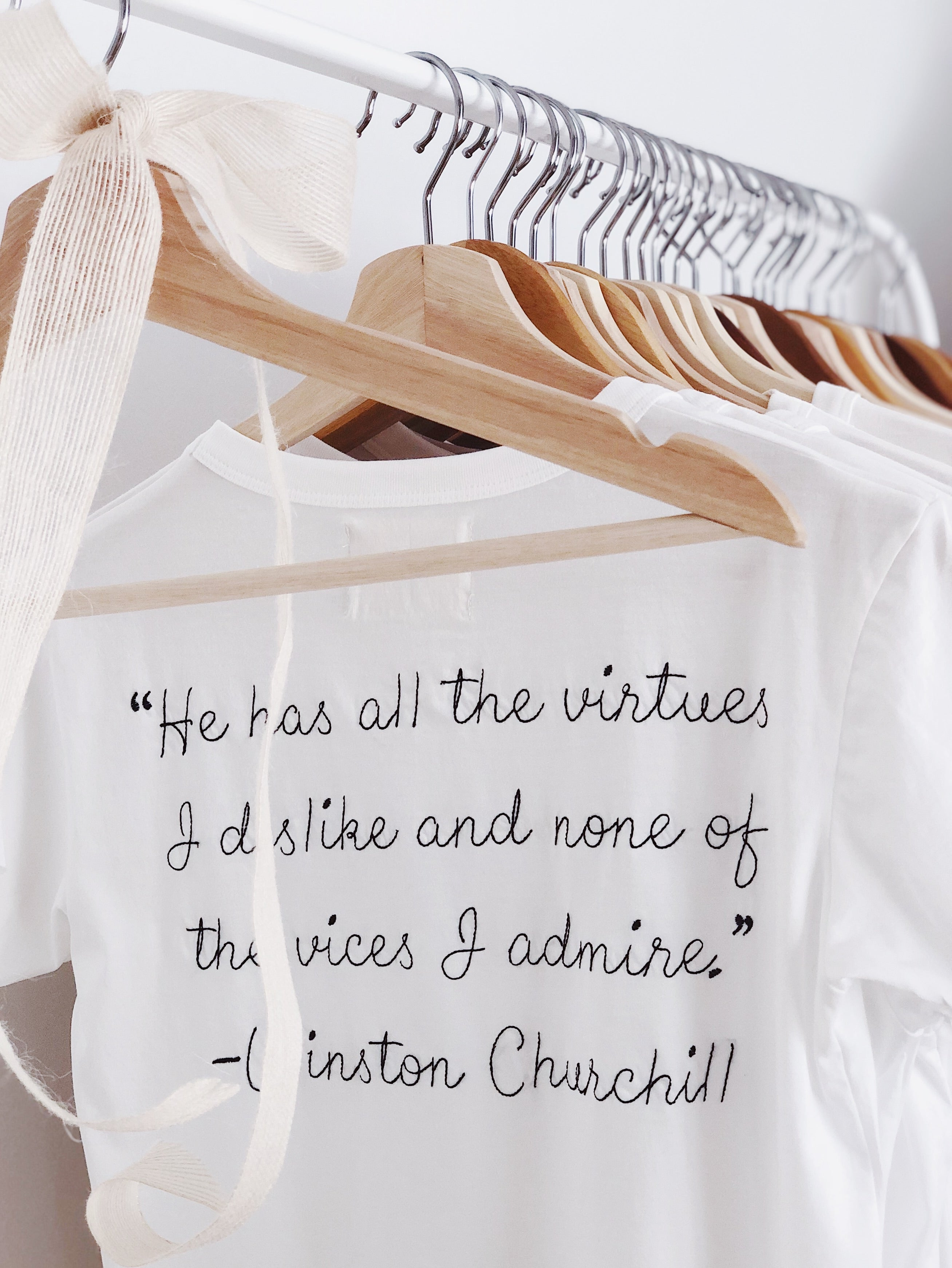 Churchill, Baby Girl Tee