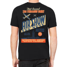 Van Nuys Airshow Men's Black T-Shirt