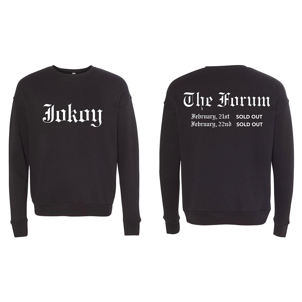 The Forum Black Crewneck