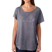 Butterfly Women's Dark Grey T-shirt
