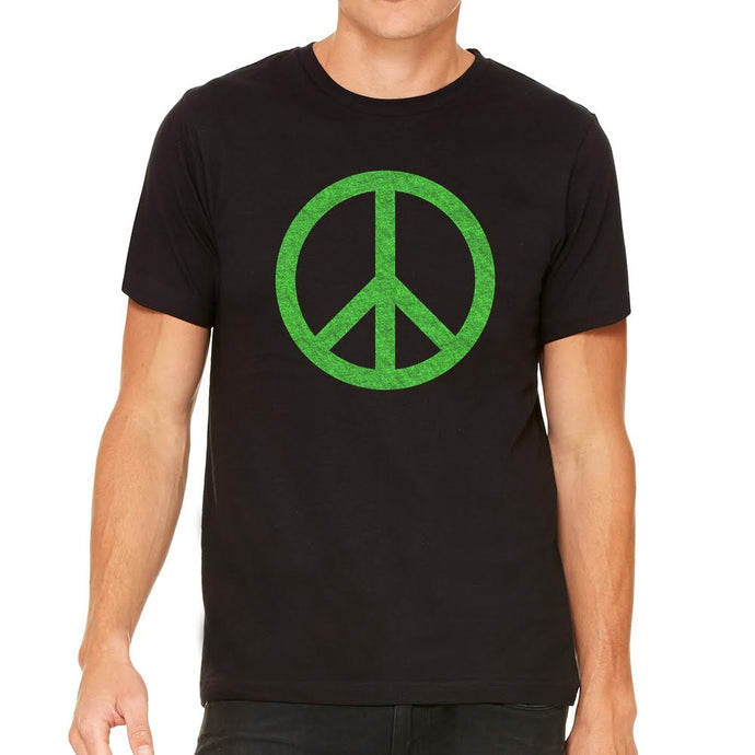 Peace Men's Black Tee