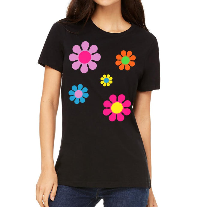 Daisy's Women's Black Tee
