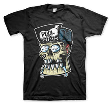 Pool Seekers Skull Men's Black Tee