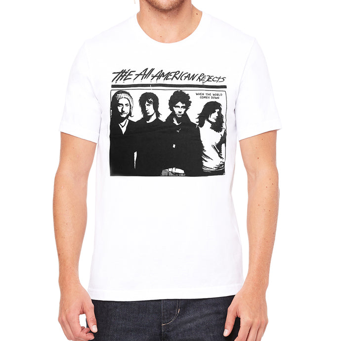 Battle of the Bands Men's White Vintage T-shirt
