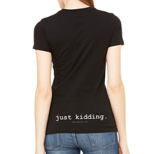 Big Butt Women's Black T-Shirt