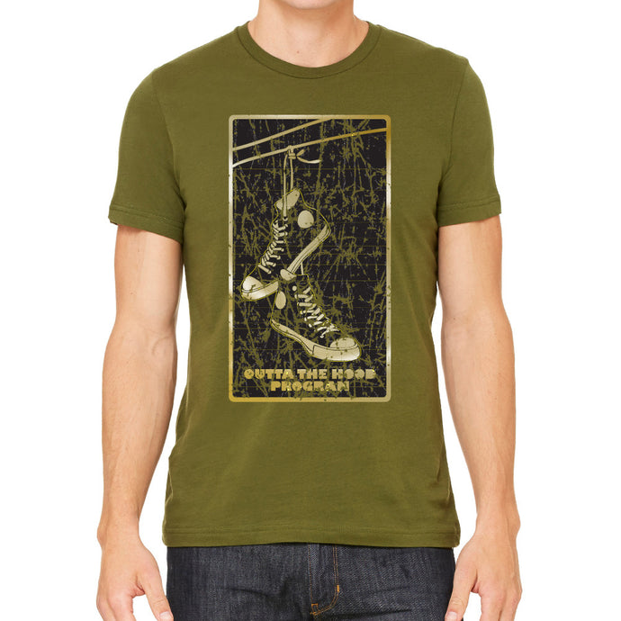 Outta The Hood Program Men's Olive T-Shirt
