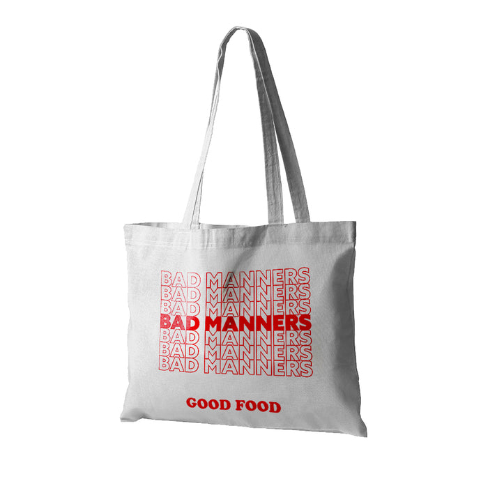 Bad Manners Tote