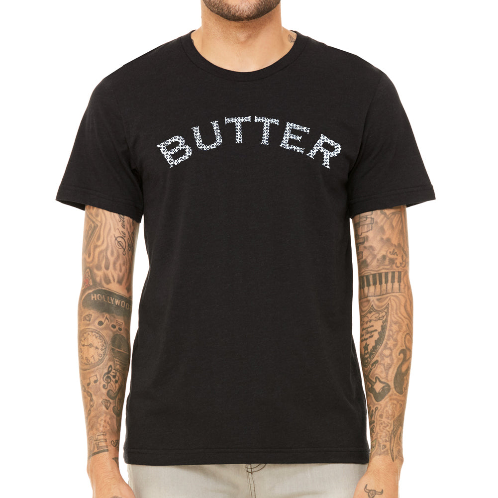 Butter Men's Black Vintage T-shirt