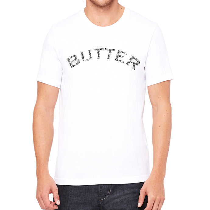 Butter Men's White Vintage T-shirt