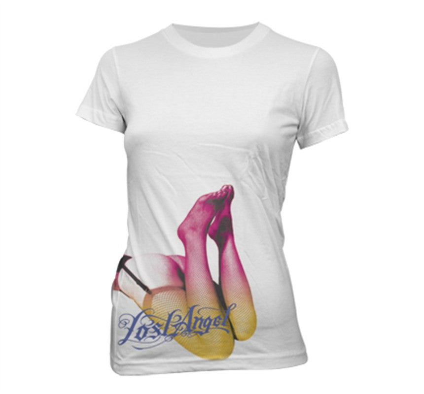 Lost Angel Women's White T-Shirt