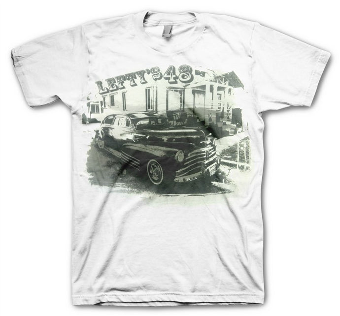 Lefty's Men's White T-Shirt